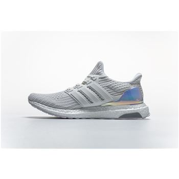 c52cc5b377d81 Adidas Ultra Boost 4.0 Iridescent White BY1756 Real Boost