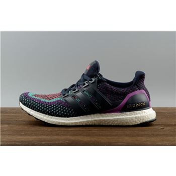 2ee4dfc2c5a750 Best Price Authentic Adidas Ultra Boost 2.0 Black Purple BB3908 Real Boost
