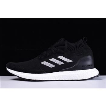 45e4554103c78 New Adidas Ultra Boost Mid Black White Shoes On Sale