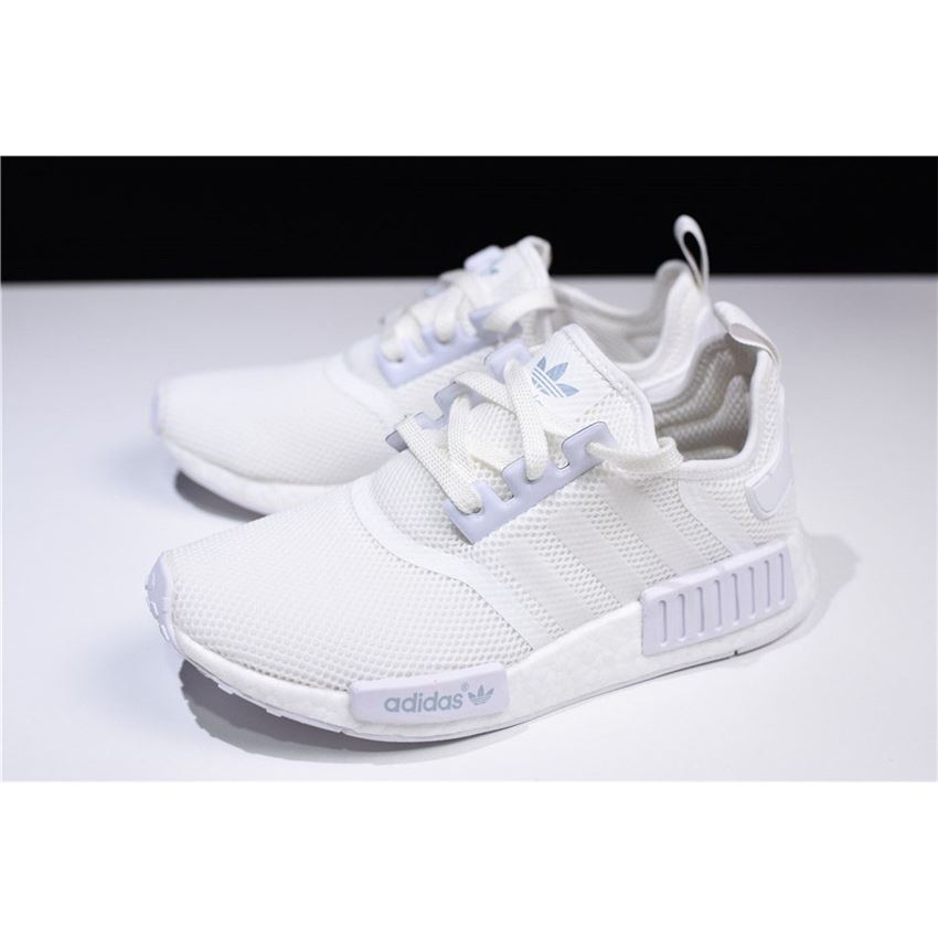 New Adidas Nmd R1 Triple White Runner Shoes S79166 Ultraboost