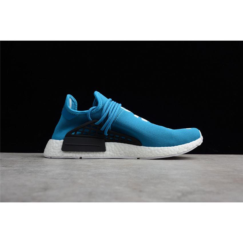 bfa8aae84 Pharrell x Adidas HU NMD Human Being Shale Blue Men s Shoes BB0618 ...