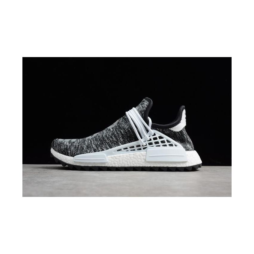 36a8e158f Men s Pharrell x Adidas NMD Hu Trail Core Black Footwear White AC7359