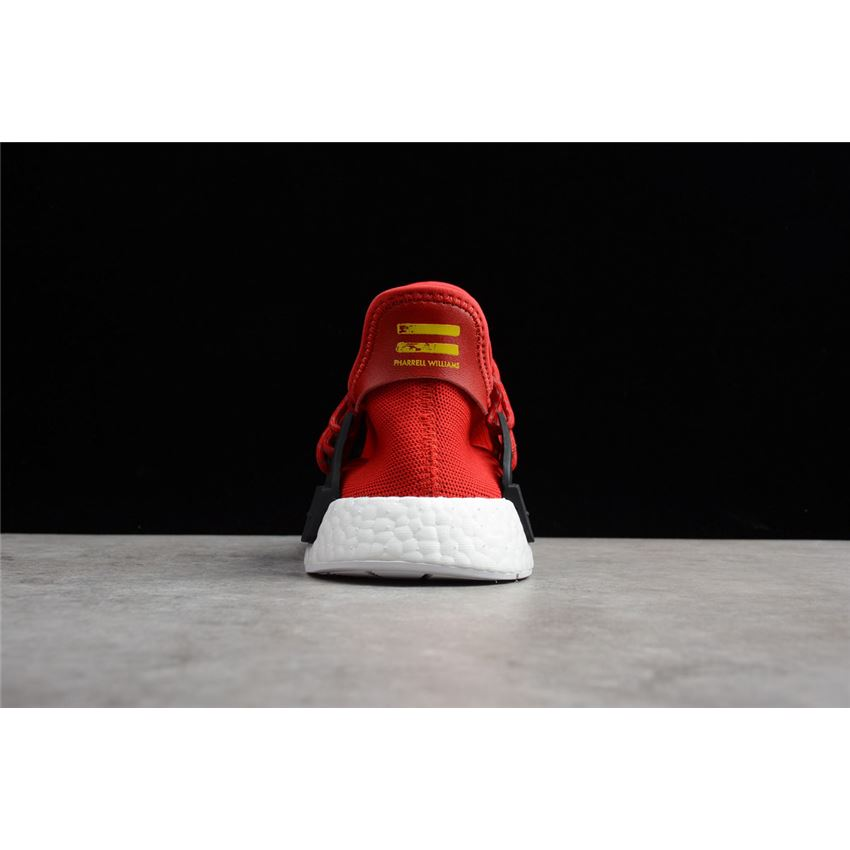ba9997bca Pharrell x Adidas NMD Human Race Red Footwear White-Black BB0616 ...