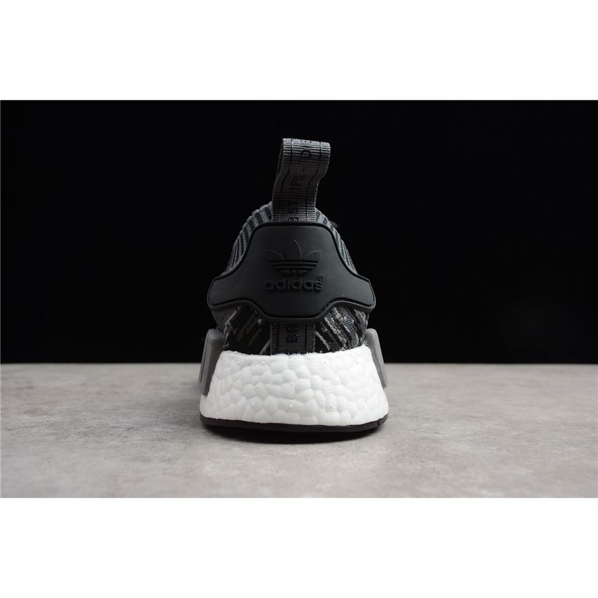 the latest 241c0 6670b Adidas NMD R1 Primeknit Glich Camo Black/Grey Three BZ0223 ...