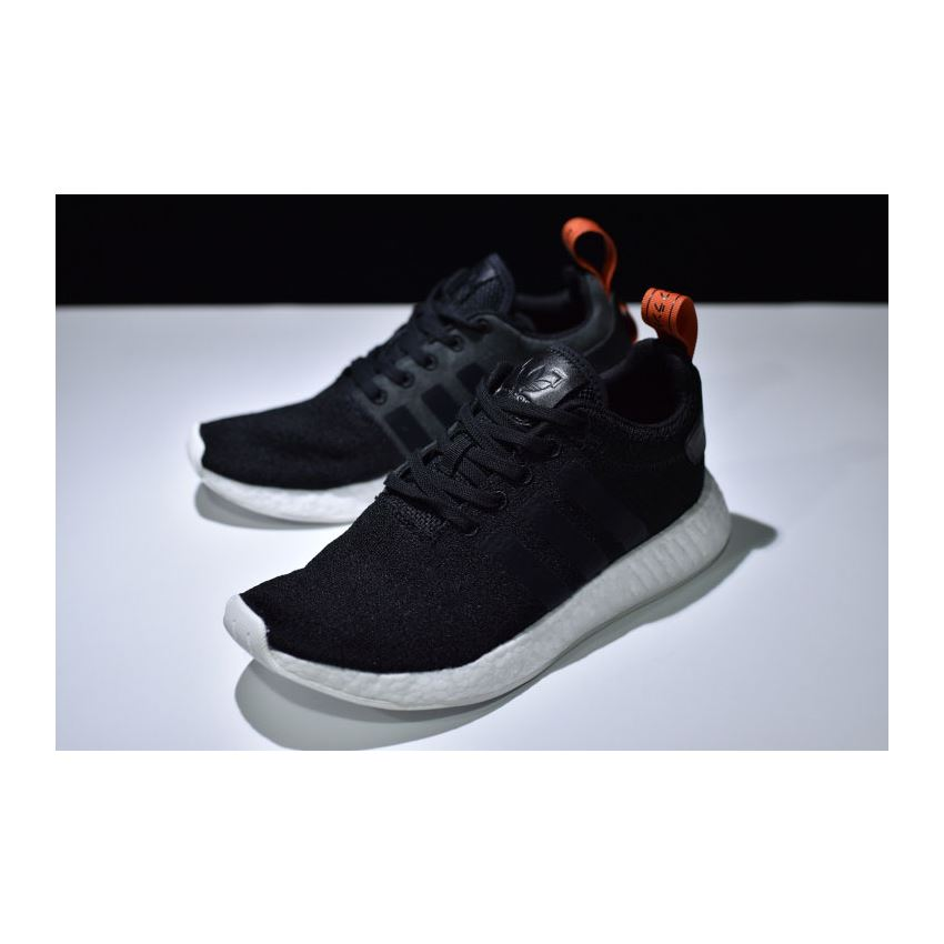 Adidas Nmd R2 Primeknit Future Harvest Black Orange Cg3384 Ultra