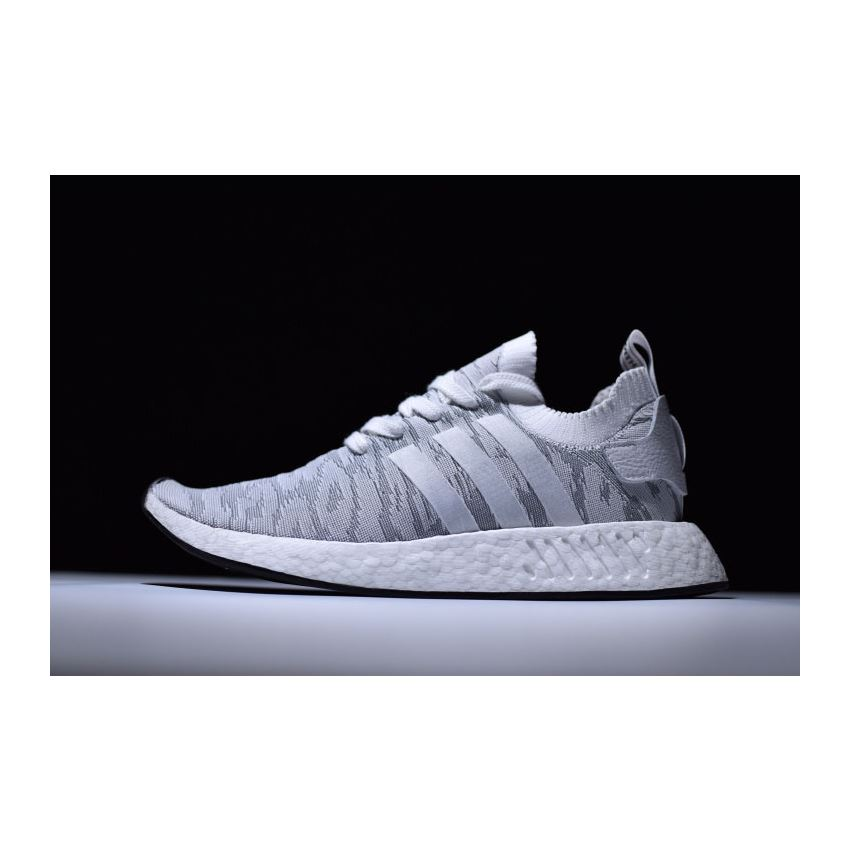 Adidas Nmd R2 Primeknit White Grey Red Men S And Women S Size By9410 Ultra Boost Adidas Ultraboost
