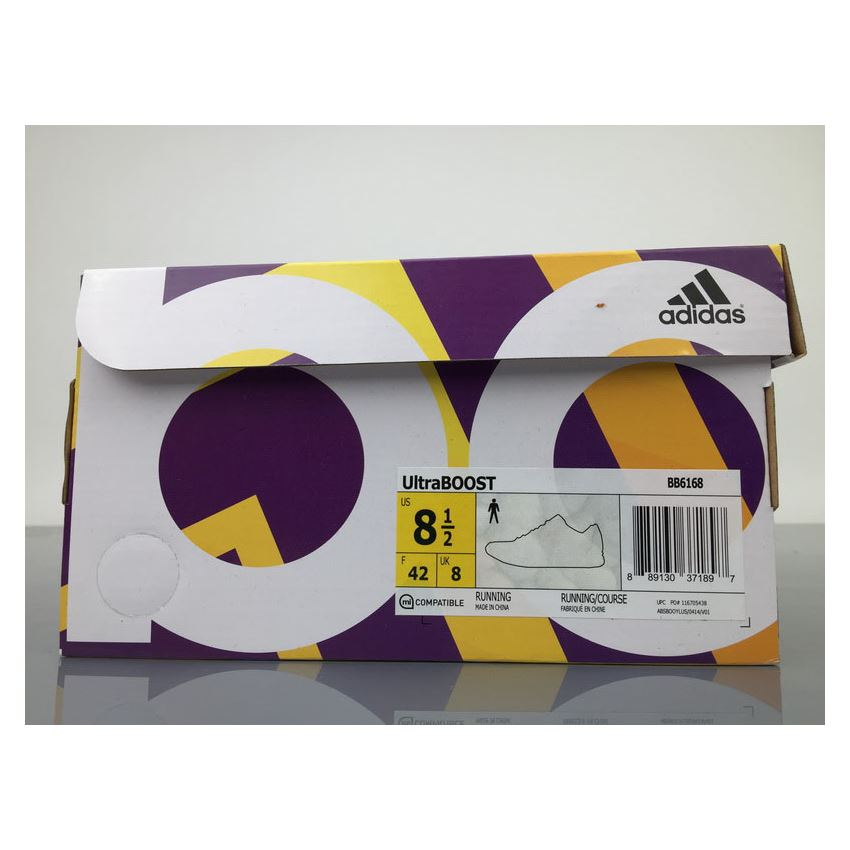 Adidas Ultra Boost 4.0 BB6168 White Black Real Boost