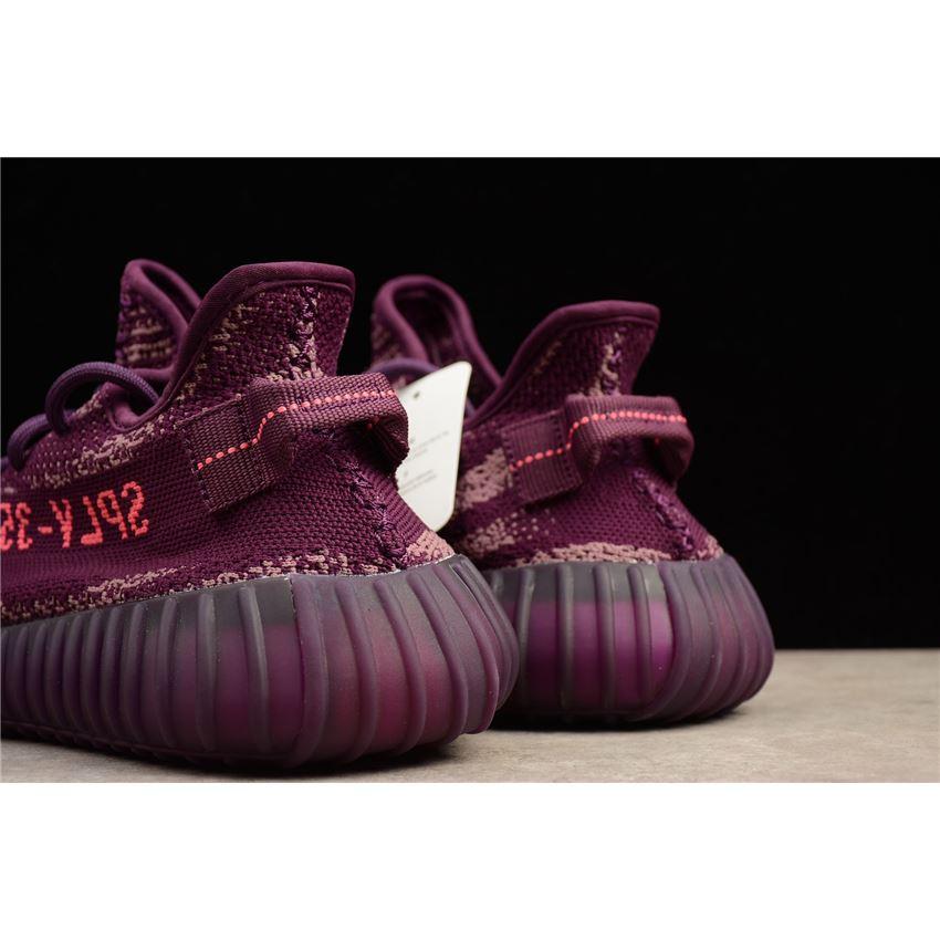 fe738f6fa3b Adidas Yeezy Boost 350 V2 Red Night Dark Night Purple-Pink B37573 ...