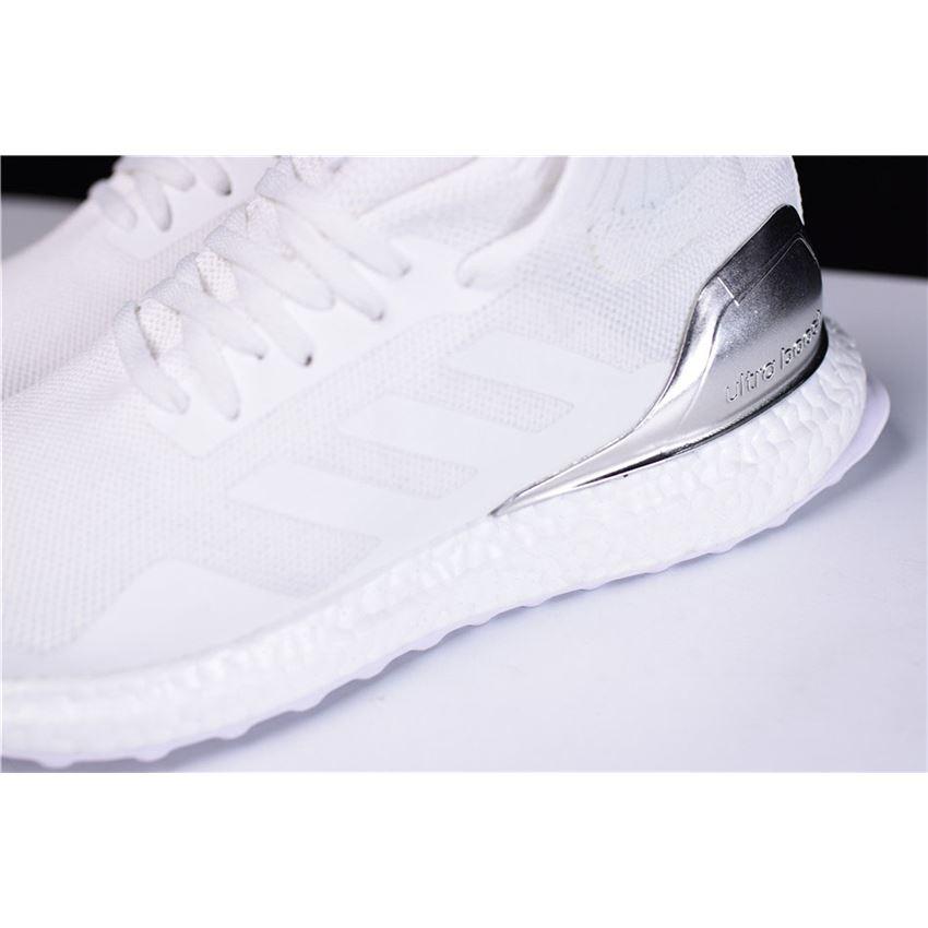 dc6eb5c89c37 Ronnie Fieg KITH x Adidas Ultra Boost Mid White Silver