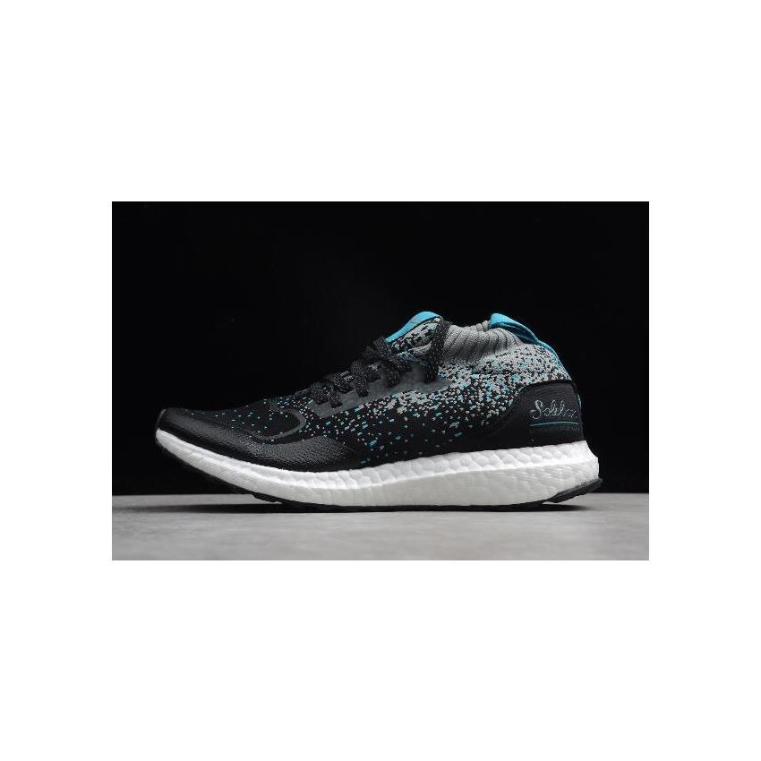 Solebox x Packer Shoes x Ultra Boost Mid Core Black Energy Blue ...