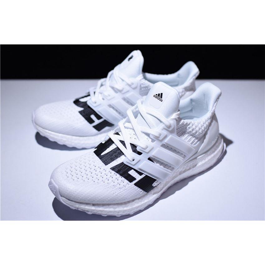 4fcc900dfbc25 Undefeated x Adidas Ultra Boost White Black B22481