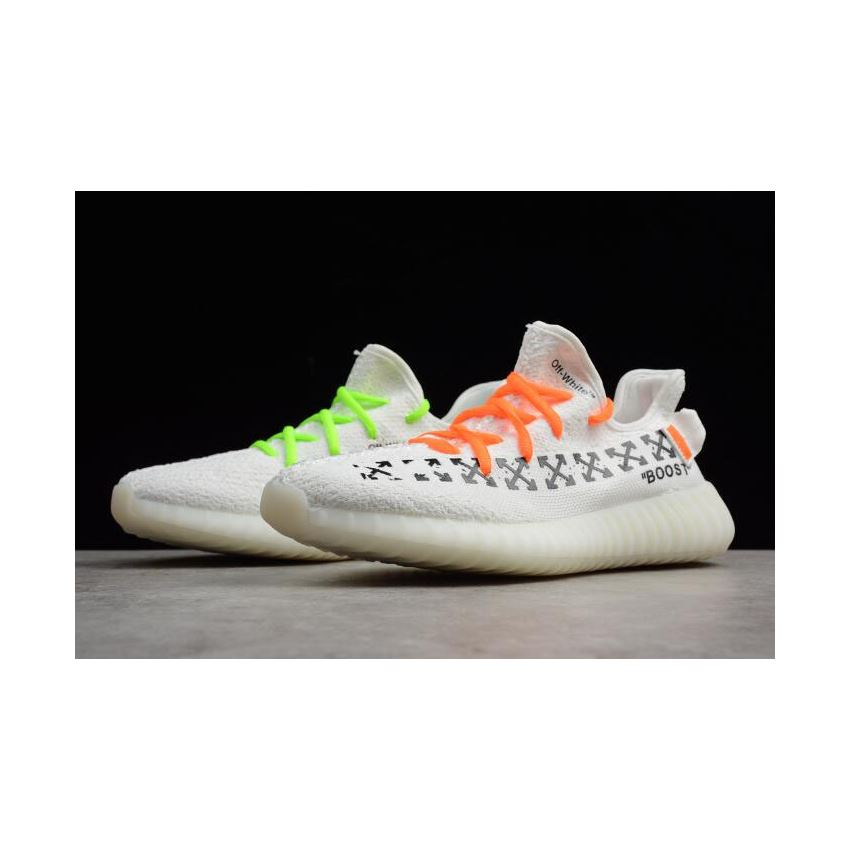 d38af05e630f8 Virgil Abloh OFF-White x Adidas Yeezy Boost 350 V2 White Men s and Women s  Size