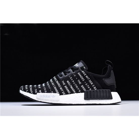 promo code b6828 94f79 New Adidas NMD R1 Brand With The Three Stripes Core Black ...