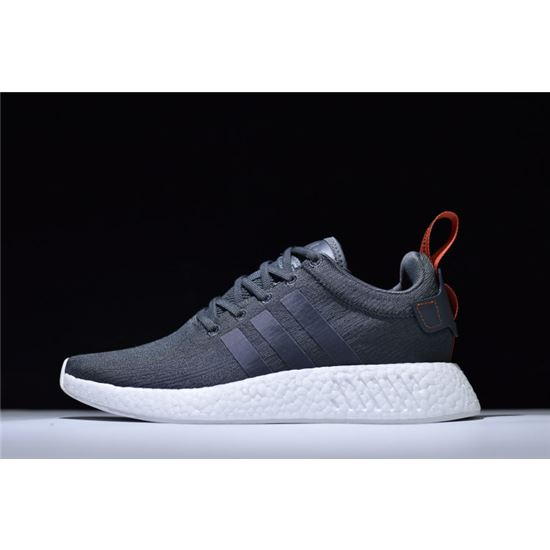 online retailer 60791 d3044 New Adidas NMD R2 Boost Primeknit Navy/White-Red BY3014 ...