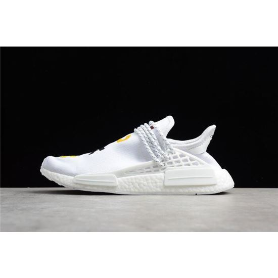 size 40 08dbc 5472d Pharrell x Adidas NMD Human Race Birthday White Colorful ...