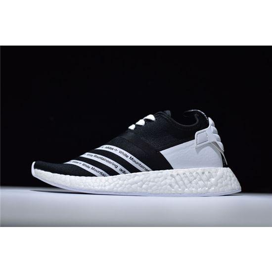 51f88c5ed White Mountaineering x Adidas NMD R2 Primeknit Core Black Footwear White  CG3648