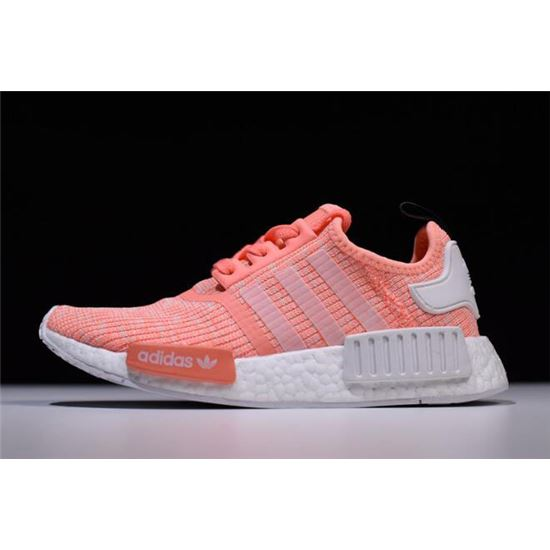 795f10ee0 Women s Adidas NMD R1 Pink White Shoes