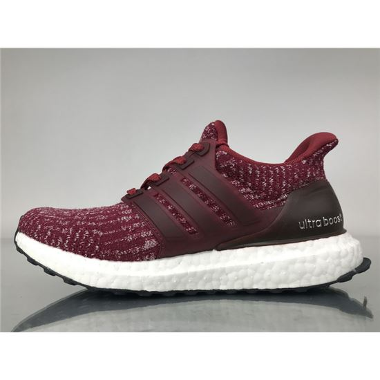 3d39f04bd Adidas Ultra Boost 3.0 Burgundy Real Boost BA8845 Men Women Ladies Girls  Real Boost