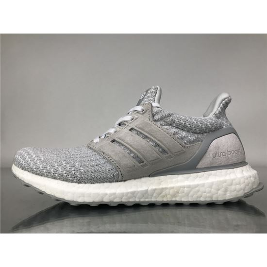 timeless design cbbbd e31a7 Reigning Champ x Adidas Ultra Boost 3.0 White Grey Real ...