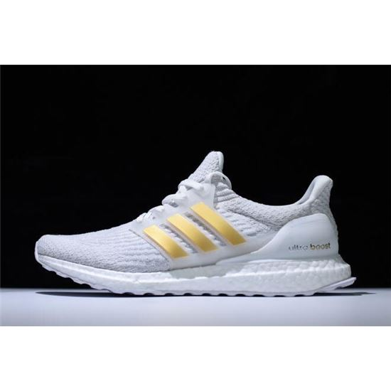 New Adidas Ultra Boost 3 0 White Gold Ba7680 Adidas Ultra Boost