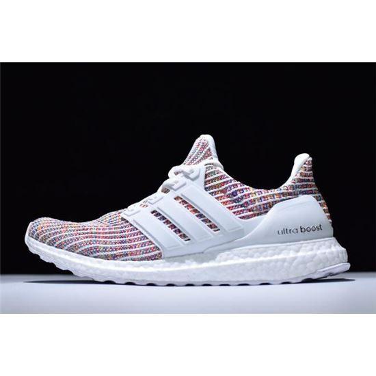 New Adidas Ultra Boost 4.0 White/Multi
