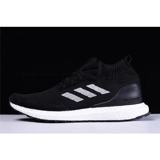 New Adidas Ultra Boost Mid BlackWhite Shoes On Sale, Ultra