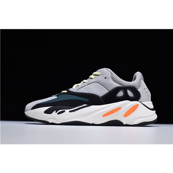 b1668e8fb Adidas Yeezy Boost 700 Wave Runner Multi Solid Grey Chalk White-Core Black  B75571