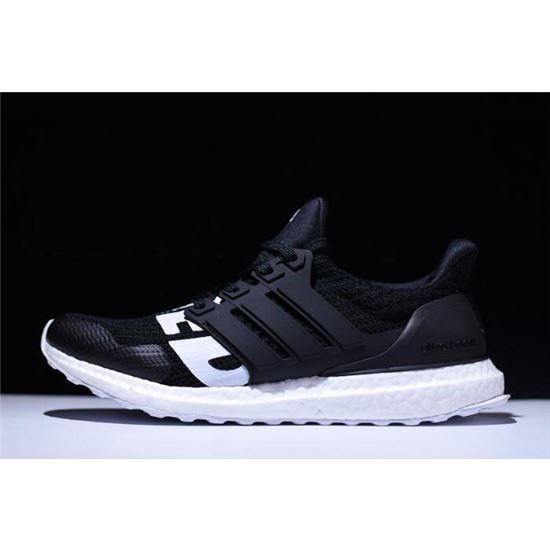 20196f7aa2a07 Undefeated x Adidas Ultra Boost Black White B22480 On Sale