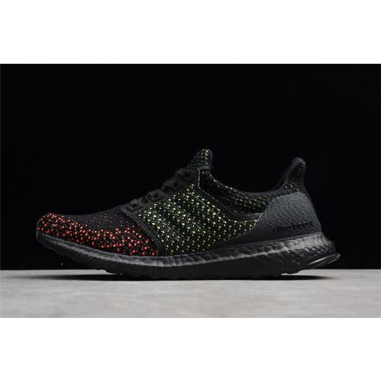 5258a10b6 2018 Adidas Ultra Boost Clima 4.0 Core Black Solar Red AQ0482 ...